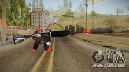 CS:GO - M4A1-S Cyrex for GTA San Andreas