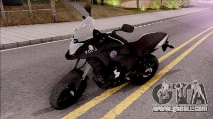 Honda CB500X Turkish Police Motorcycle for GTA San Andreas