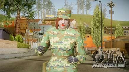 Gunrunning Female Skin for GTA San Andreas