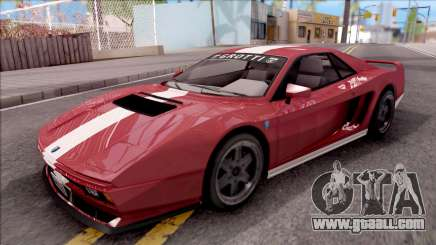 GTA V Grotti Cheetah Classic for GTA San Andreas
