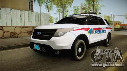 Ford Explorer 2012 YRP for GTA San Andreas