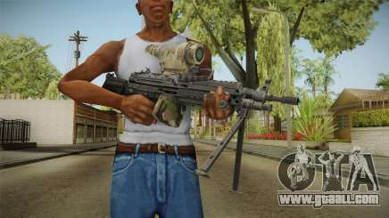 M249 Light Machine Gun v2 for GTA San Andreas