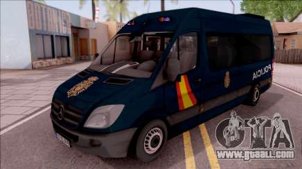 Mercedes-Benz Sprinter Spanish Police for GTA San Andreas