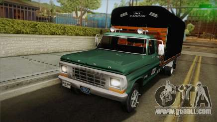 Ford F-350 1978 for GTA San Andreas