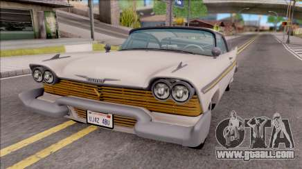 Plymouth Fury 1958 HQLM for GTA San Andreas