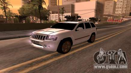 Jeep Grand Cherokee SRT8 Armenian for GTA San Andreas