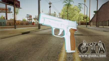 Chrome Sag Sauer P228 for GTA San Andreas