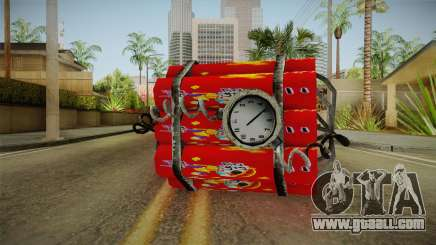 Dynamite With Clock China Wind for GTA San Andreas