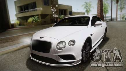 Bentley Continental SuperSport for GTA San Andreas