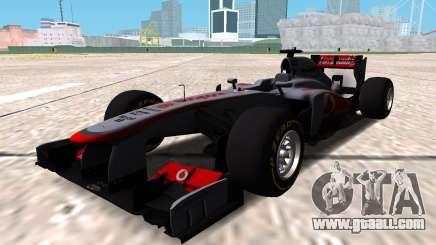 McLaren MP4-28 2013 for GTA San Andreas