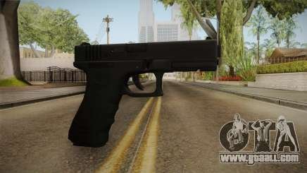 Glock 18 3 Dot Sight Orange for GTA San Andreas