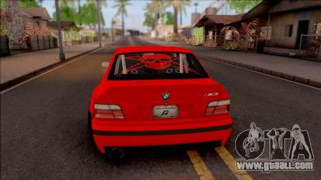 BMW M3 E36 Drift Rocket Bunny v3 for GTA San Andreas back left view