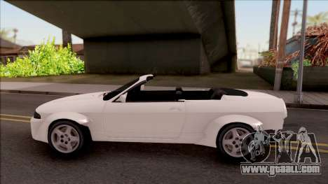 Nissan Skyline R33 Cabrio Tuned for GTA San Andreas left view