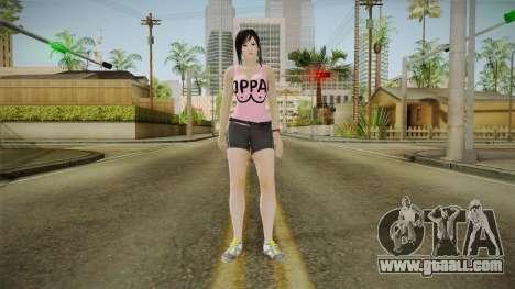 Kokoro Pinko Skin for GTA San Andreas second screenshot