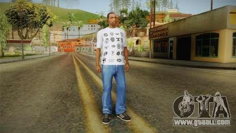 GTA 5 Special T-Shirt v18 for GTA San Andreas third screenshot