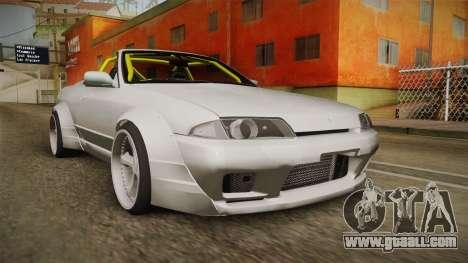 Nissan Skyline R32 Cabrio Drift Rocket Bunny v1 for GTA San Andreas