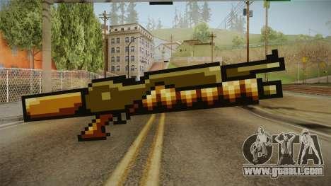 Metal Slug Weapon 12 for GTA San Andreas