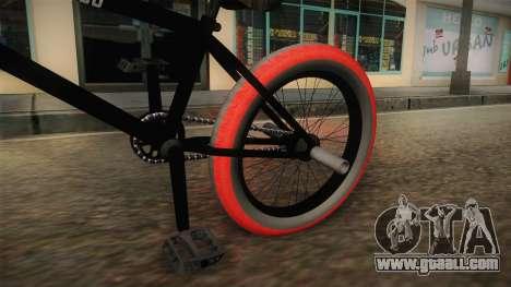 BMX Poland 4 for GTA San Andreas back view
