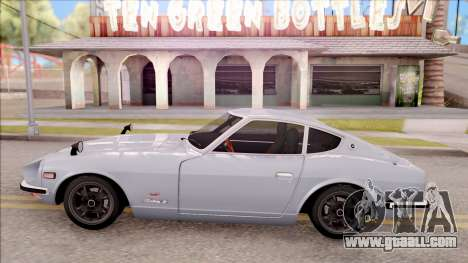 Nissan Fairlady Z 432 Stock 1969 for GTA San Andreas left view