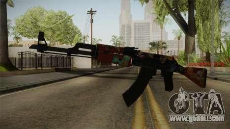 CS: GO AK-47 Jet Set Skin for GTA San Andreas