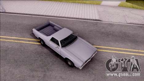 Sabre La Destino Regular for GTA San Andreas