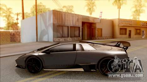 Lamborghini Murcielago LP670-4 SV for GTA San Andreas left view