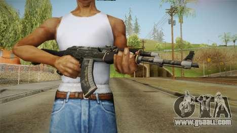 CS: GO AK-47 Elite Build Skin for GTA San Andreas third screenshot