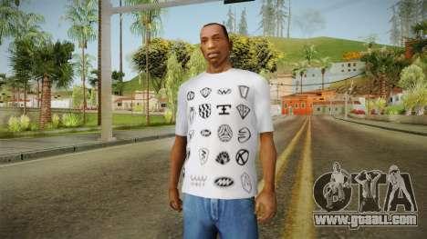 GTA 5 Special T-Shirt v18 for GTA San Andreas