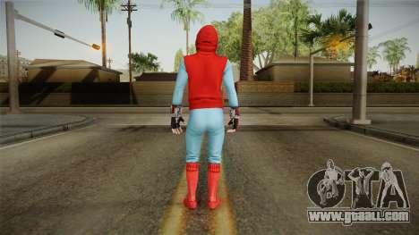 Marvel Heroes Omega - Homemade Suit v2 for GTA San Andreas third screenshot