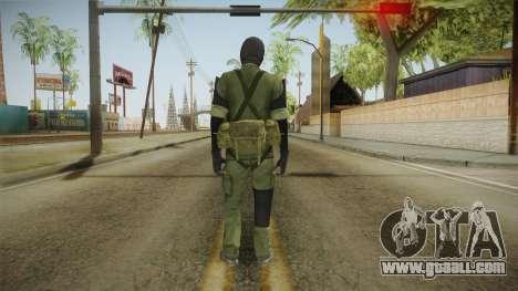MSF Custom Soldier Skin 3 for GTA San Andreas third screenshot