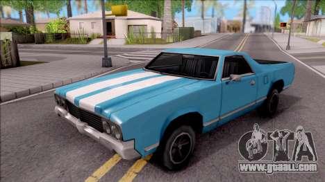 Sabre La Destino Turbo for GTA San Andreas