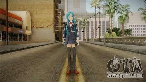 Asuna Yuuki School Uniform v5 for GTA San Andreas second screenshot