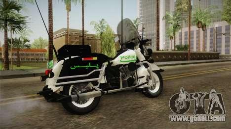 New Police Bike v1 for GTA San Andreas left view