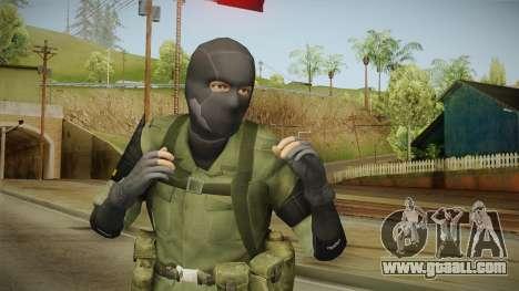 MSF Custom Soldier Skin 3 for GTA San Andreas