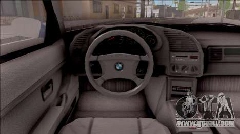 BMW M3 E36 Compact for GTA San Andreas inner view