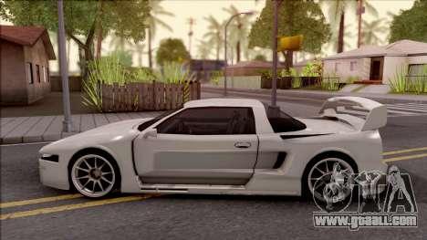 BlueRay Infernus V910 for GTA San Andreas left view