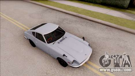 Nissan Fairlady Z 432 Stock 1969 for GTA San Andreas right view