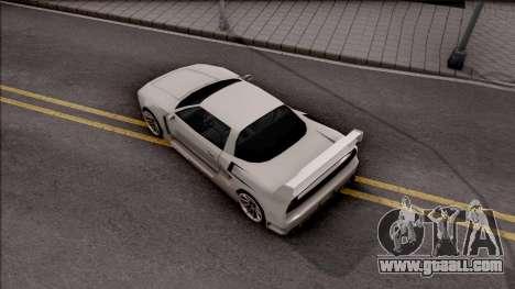BlueRay Infernus V910 for GTA San Andreas back view