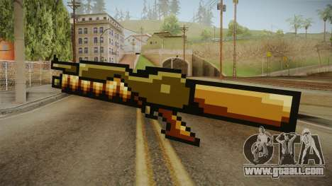 Metal Slug Weapon 12 for GTA San Andreas second screenshot