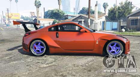 GTA 5 Nissan 350Z (Z33) stardast [add-on] left side view