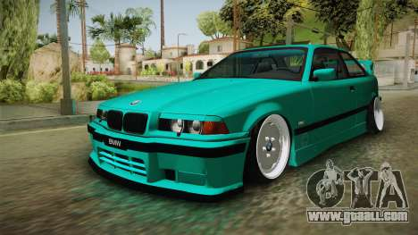 BMW E36 Stance for GTA San Andreas right view