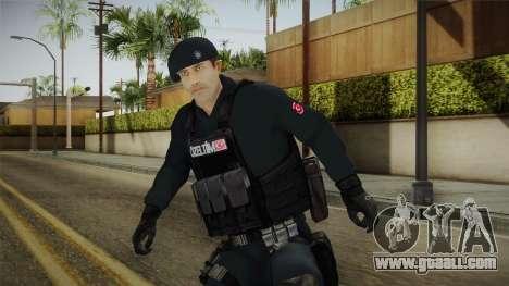 Turkish Police-Rapid Response Unit Member for GTA San Andreas