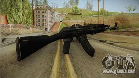 CS: GO AK-47 Elite Build Skin for GTA San Andreas second screenshot