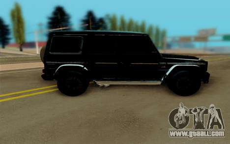 Mercedes-Benz G63 Brabus for GTA San Andreas left view