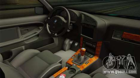 BMW E36 Stance for GTA San Andreas inner view
