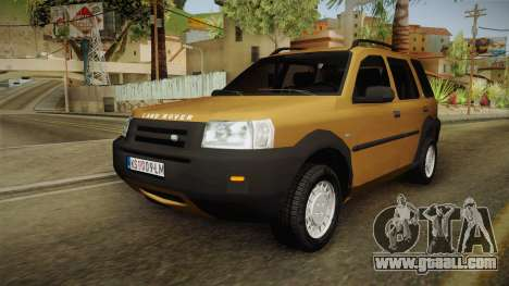 Land Rover Freelander v6 for GTA San Andreas