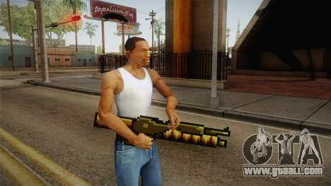 Metal Slug Weapon 13 for GTA San Andreas second screenshot