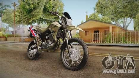 Yamaha XT660 for GTA San Andreas right view