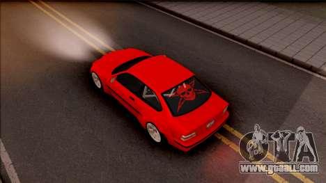 BMW M3 E36 Drift Rocket Bunny v3 for GTA San Andreas back view