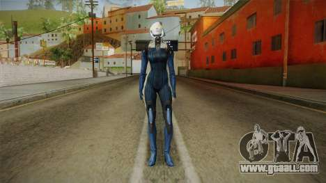 Mass Effect 3 EDI Alt Blue for GTA San Andreas second screenshot